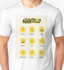 Lego feelings Unisex T-Shirt