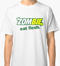 zombie eat flesh sub way Classic T-Shirt