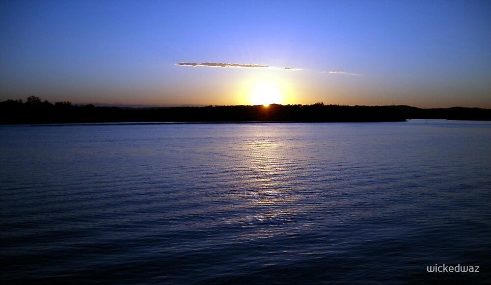 Godfrey's Sunset by wickedwaz
