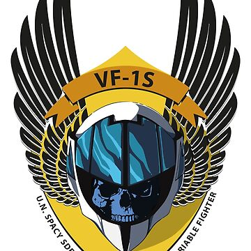 VF-1S VALKYRIE VARIABLE FIGHTER SHIELD by pocus