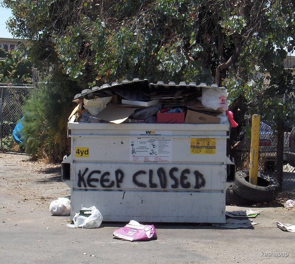 Trashcan by keshabap
