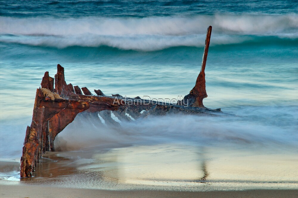 Shipwreck by AdamDonnelly