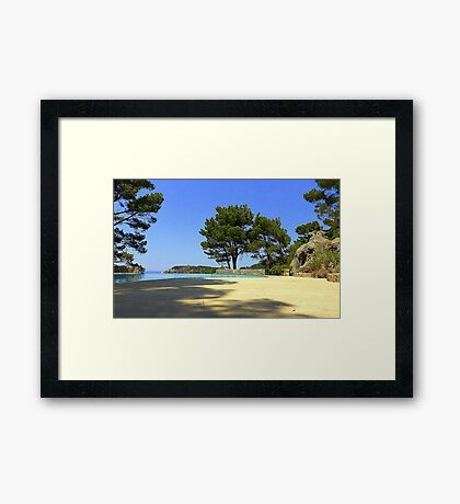 Can You Feel The Heat?? Framed Print