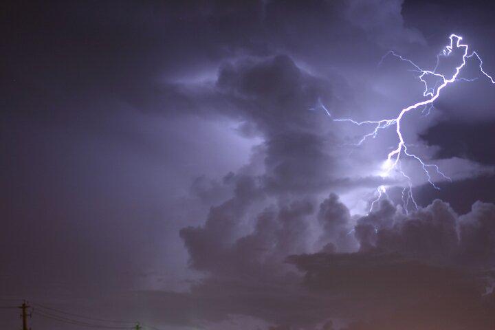 lightning by superville