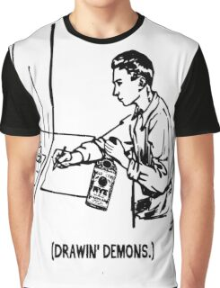 Me and Whiskey Drawing Demons Graphic T-Shirt