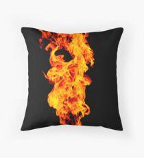 Universal Flame. Throw Pillow