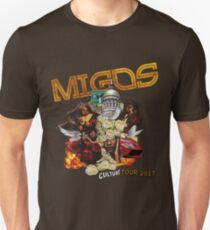 migos culture tour dates 2017 Unisex T-Shirt