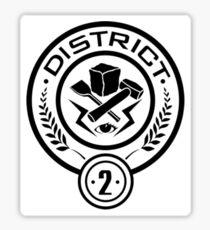 District 2  Sticker