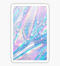 Abstract Holographic Droplets  Sticker