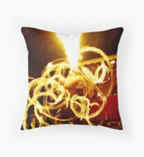 Explode Throw Pillow