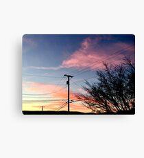 Multi-Colored Sunset Canvas Print