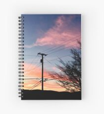 Multi-Colored Sunset Spiral Notebook