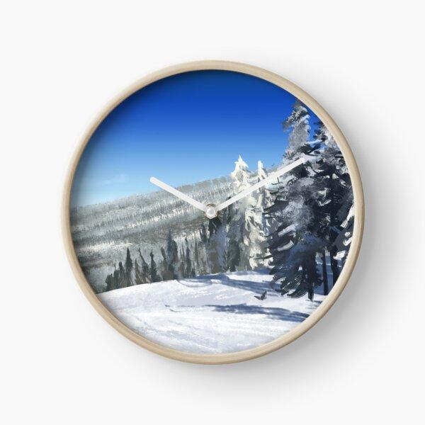 Snowbowl Clock