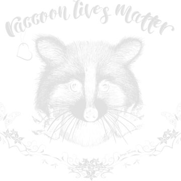 Raccoon Lives Matter Iconic-Tee by IconicTee