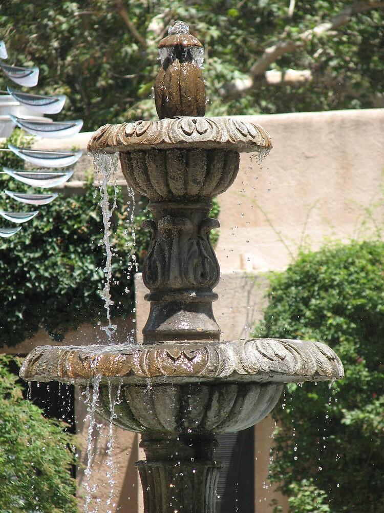 Mexican Fountain by HelenBanham