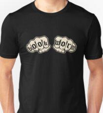Bookworm Knuckle Tattoos  Unisex T-Shirt