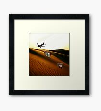 Lost Redbubble Art: A Infinite Future Chaos Framed Print