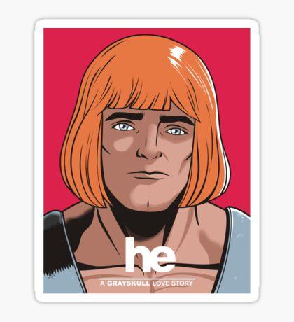 HE Sticker