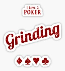 Grinding   -RED Sticker