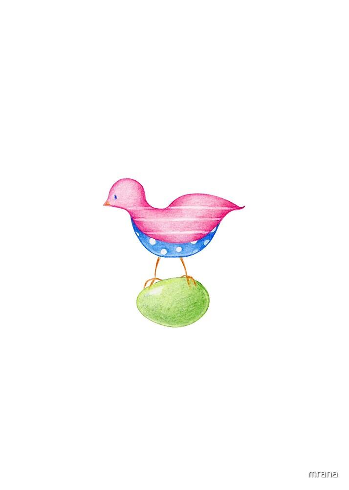 Pink Bird by Mariana Musa