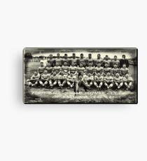 The Football Team  Canvas Print