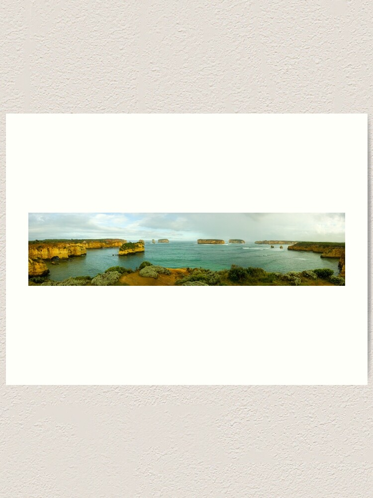 Alternate view of Bay of Islands Art Print
