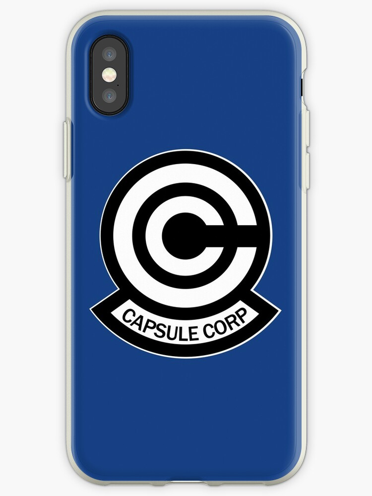 'Capsule Corp' iPhone Case by tonqua