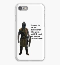 Whiterun Guard Quote iPhone Case/Skin