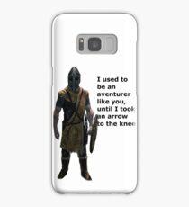 Whiterun Guard Quote Samsung Galaxy Case/Skin