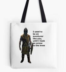 Whiterun Guard Quote Tote Bag