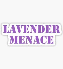 Lavender Menace Sticker