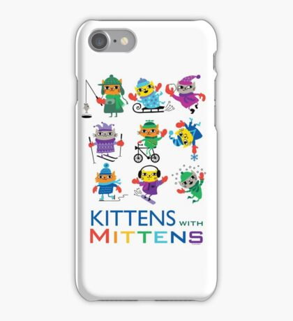 Kittens with Mittens iPhone Case/Skin