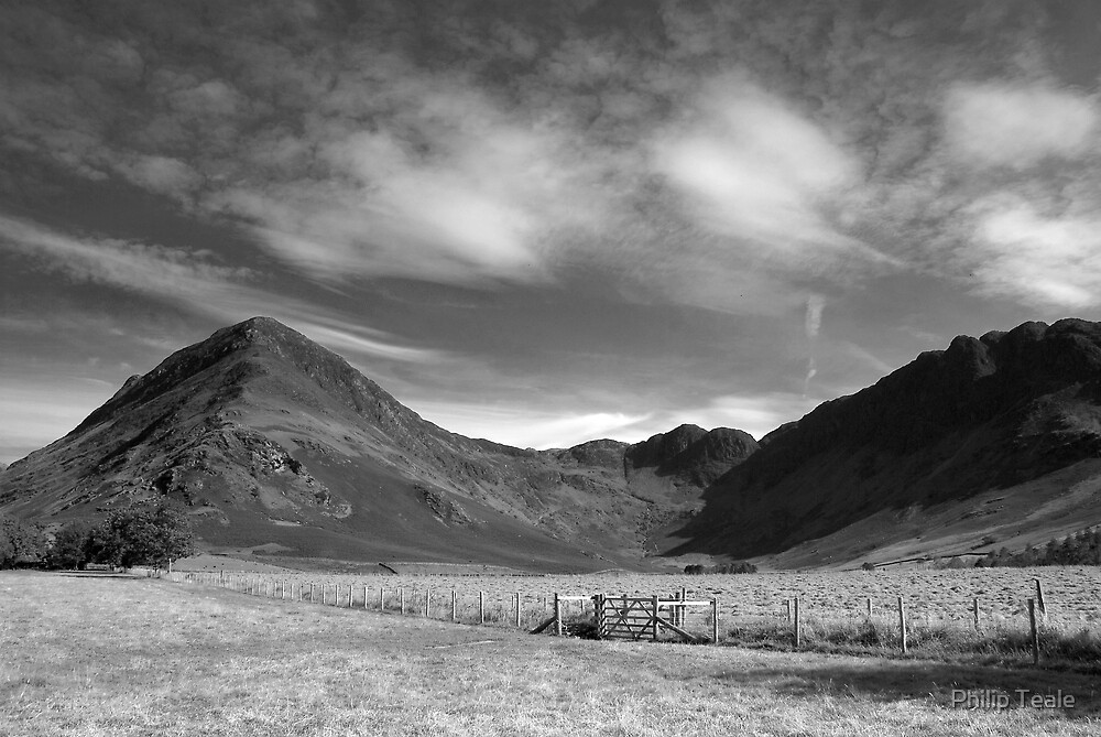 Fleetwith Pike and Haystacks by Philip Teale