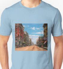 City - Memphis TN - Main Street Mall 1909 T-Shirt