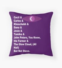 Night Vale Characters Throw Pillow