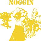 NWNOGGIN march for science yellow by nwnoggin