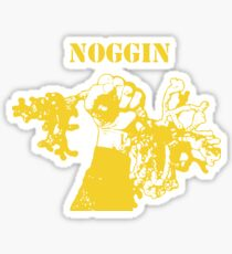 NWNOGGIN march for science yellow Sticker