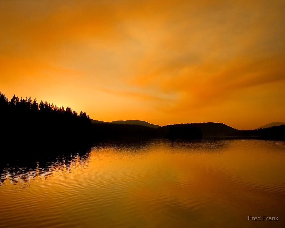 Stillwater Sunset by Fred Frank