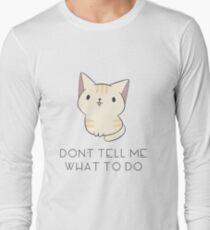 Don't Tell Me Cat T-Shirt