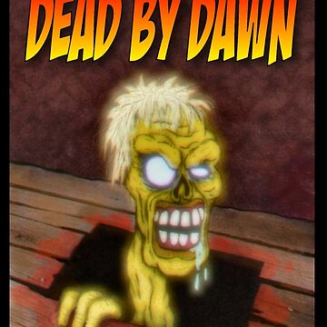 Dead by Dawn ZX Spectrum Game Inlay Art (official) by MalcolmKirk