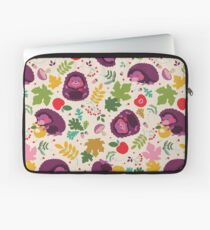 Hedgehog Print Laptop Sleeve