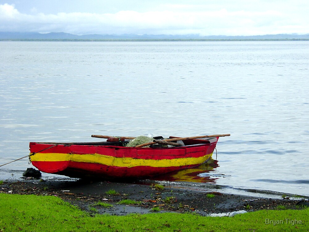 Fishing Boat, Nicaragua by Bryan Tighe