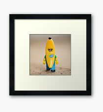 Cool Banana Framed Print