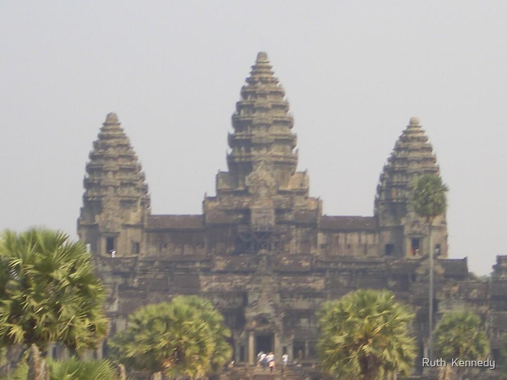 Angkor Wat by Ruth  Kennedy