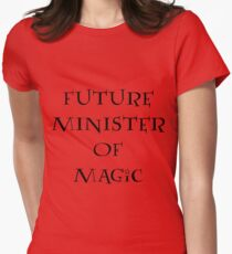 Future Minister of Magic Womens Fitted T-Shirt