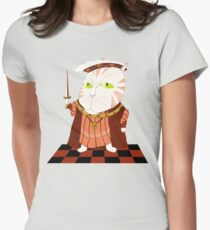 King Cat Henry the Eighth Womens Fitted T-Shirt