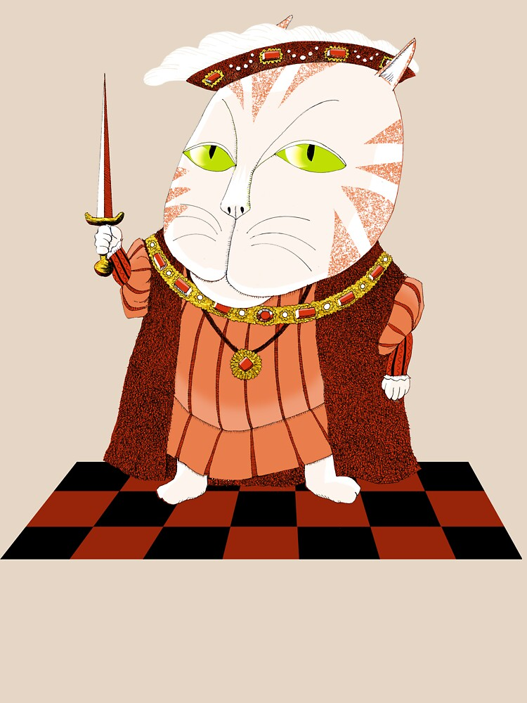 King Cat Henry the Eighth by SusanSanford