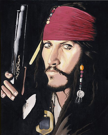 Jack Sparrow by Andy  Housham