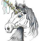 """""""Unicorn Dream"""" by Winterberry  Farm Studio"""