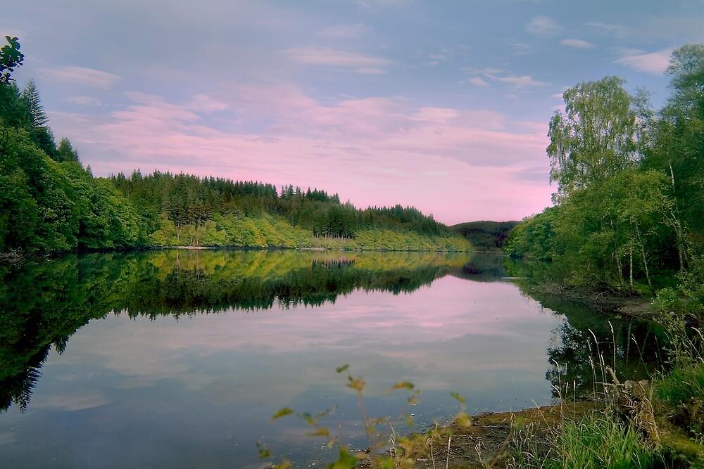 Trossachs Scotland by Chris Clark